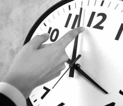 Atrasar el reloj