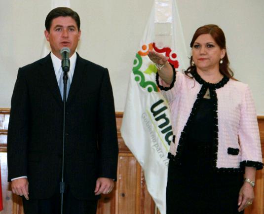 Mary Chuy y Rodrigo