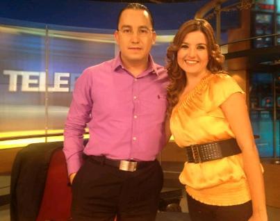 Víctor Martínez y Zintia Vanegas