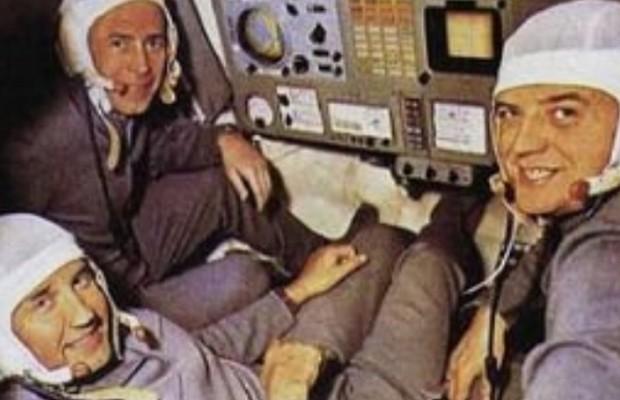 astronautas que murieron sonriendo