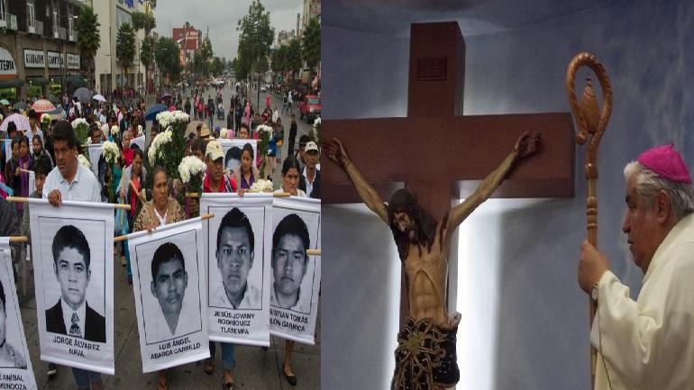 iglesia católica ayotzinapa