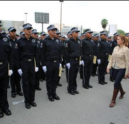 margarita arellanes y policías