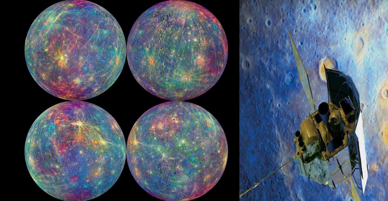 Nave espacial Messenger y Mercurio
