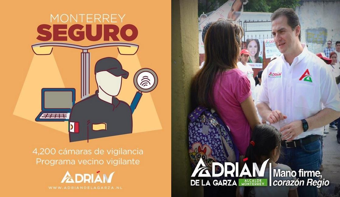 vecino vigilante adrián de la Garza