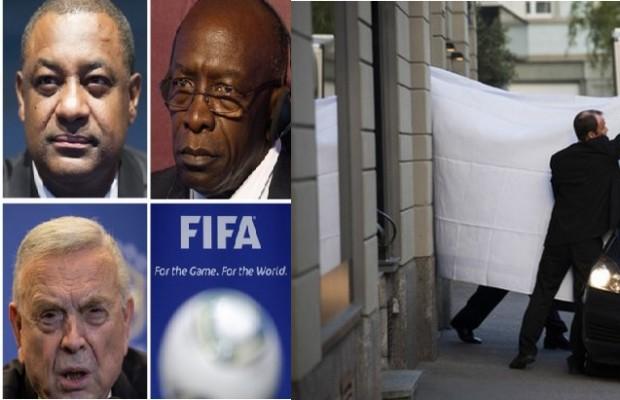 arrestan a dirigentes de la FIFA
