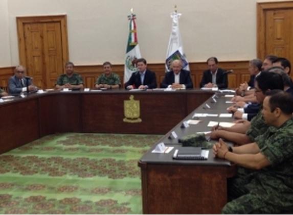 reunión de seguridad