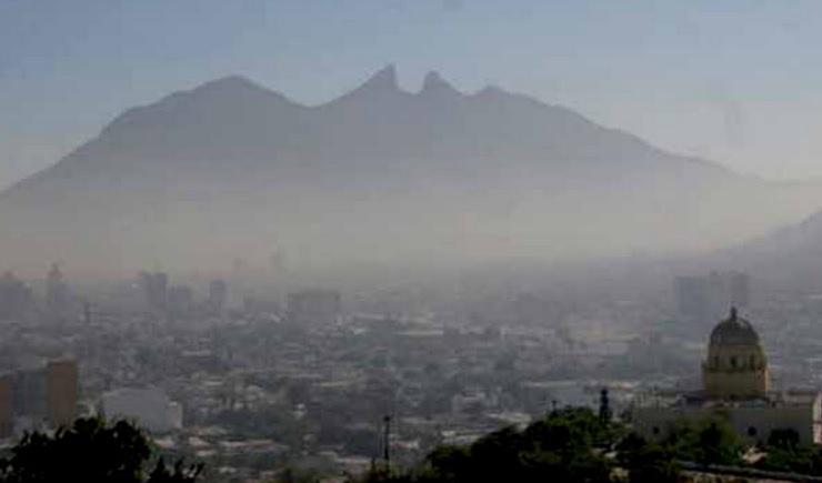 contaminacion en monterrey