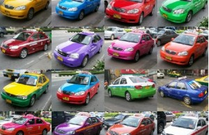 taxis colores