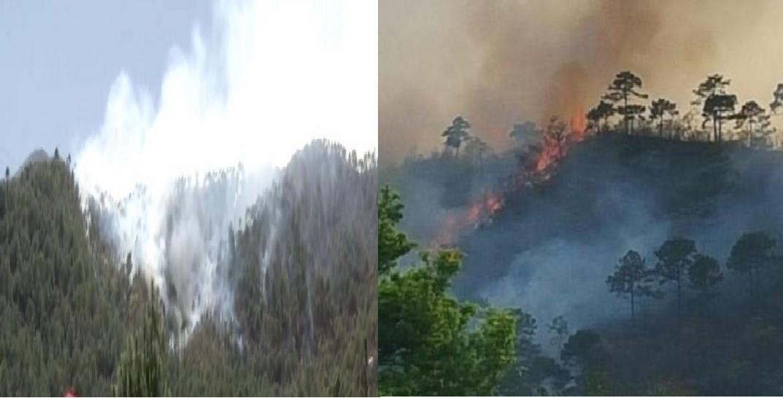 incendio en santiago nl