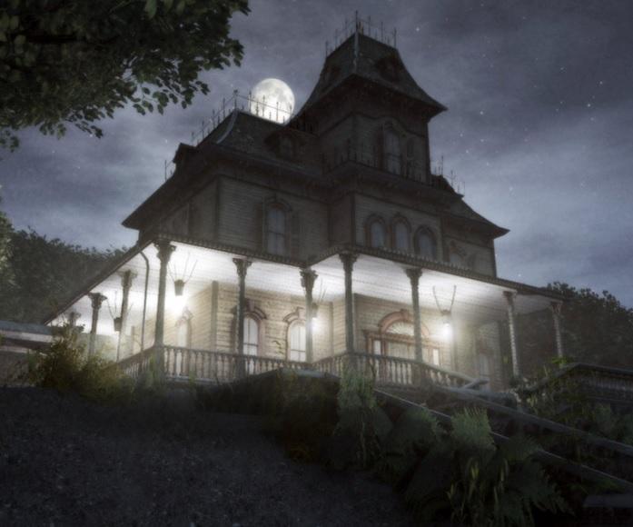mansión embrujada