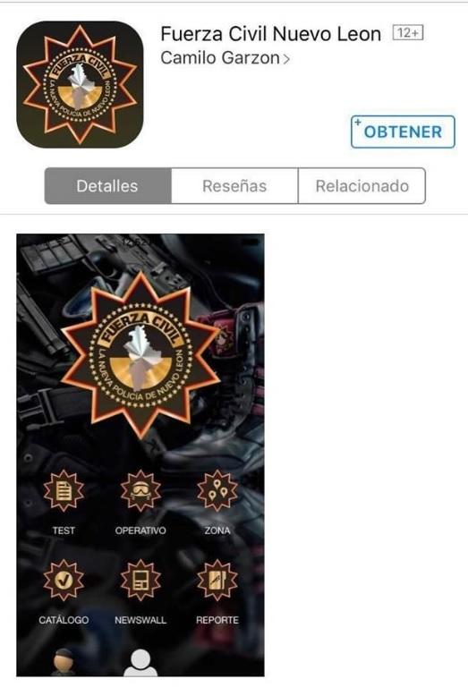 app fuerza civil
