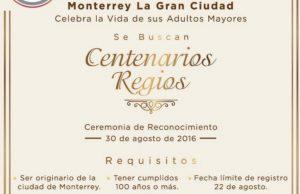 centenarios regios