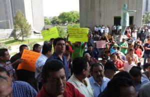 taxistas protestan